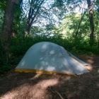 Setup my tent at Toms Creek site 39 (GPS 41.127015 -74.948574)