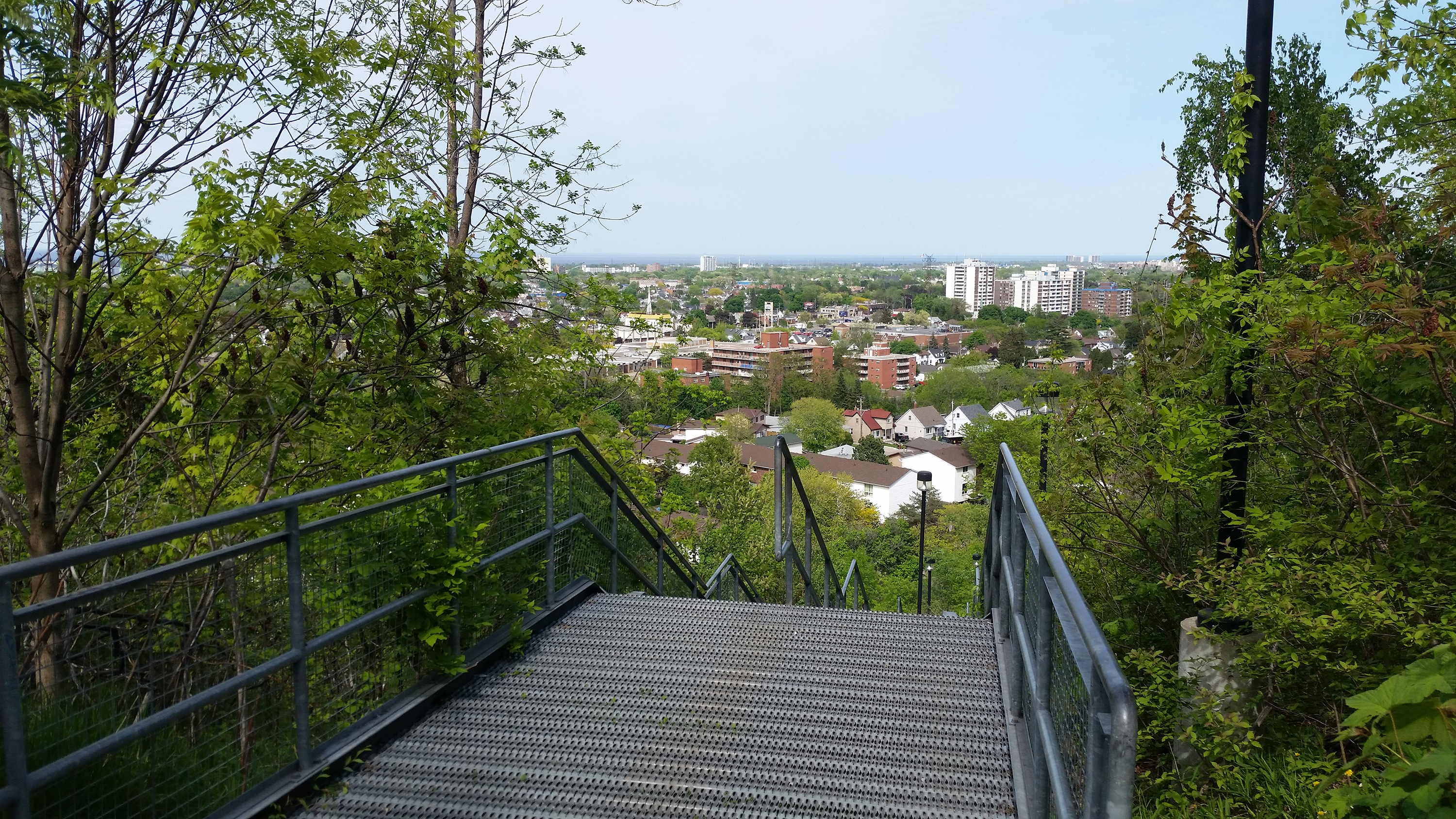 Top of the Kenilworth Stairs Lower Section