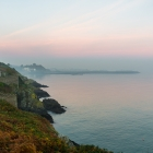 Start of the hike at Howth Head.