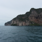 The tip of Phi Phi in view now.