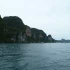Entering the port of Phi Phi