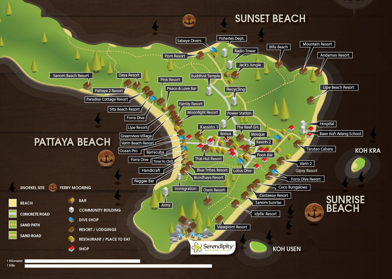Bamboo garden rooms at lipe beach resort koh lipe - Credit